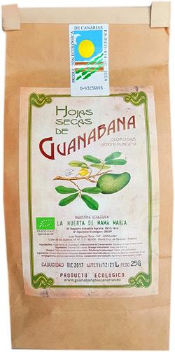 Guanabana Canarias Hojas Secas 25g Ecológicas