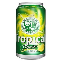 Cerveza Tropical Limon 33 cl