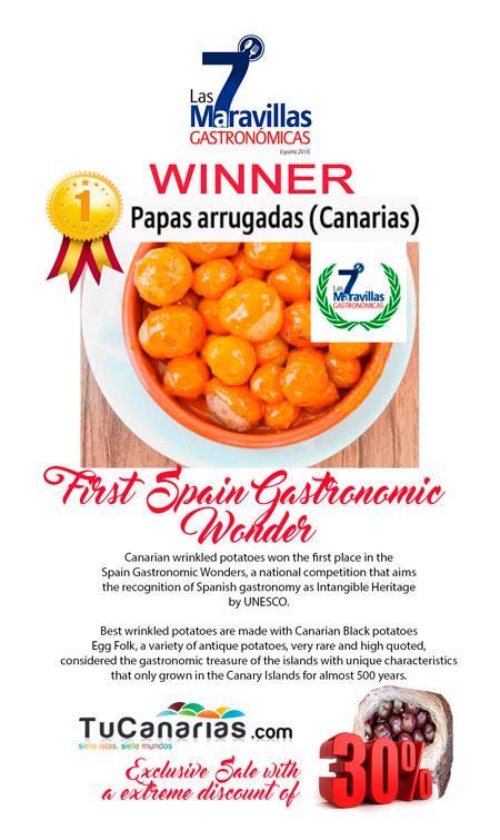 Canary Islands Potatoes TuCanarias.com
