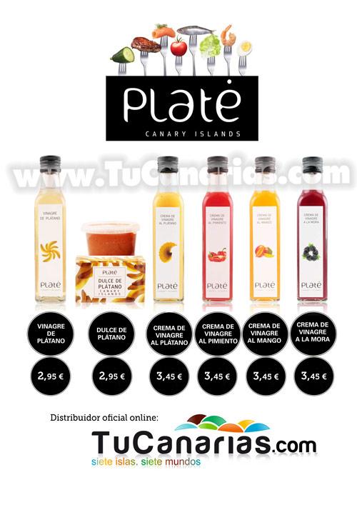 Productos Plate Vinagreta Vinagres y Dulces