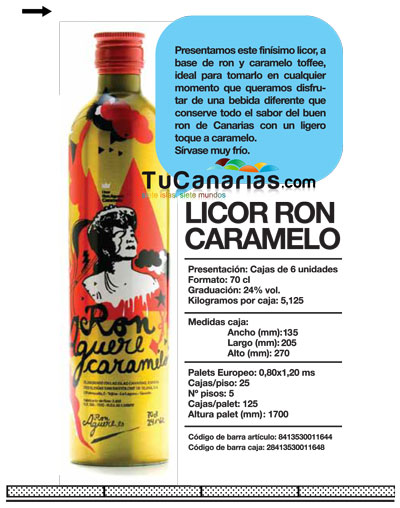 Aguere Ron Caramelo