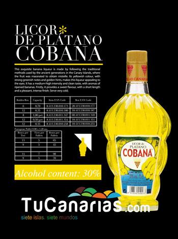 Cobana Canary Banana Liqueur