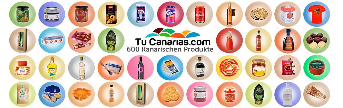 TuCanarias.com 600 Kanarischen Inslen Produkte