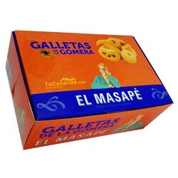 Biscuits of La Gomera El Masape 800g. Box