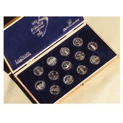 LA LAGUNA Unity Coins - 925 Silver