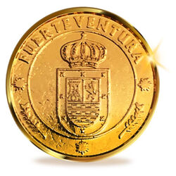 13 Arras Boda Monedas de Fuerteventura Wedding