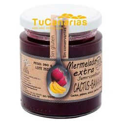 Red Cactus Indian Banana Extra Jam Isla Bonita Natural 260g