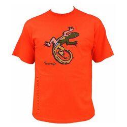 Bunte Lizard Shirt