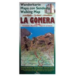 Tourist map of La Gomera
