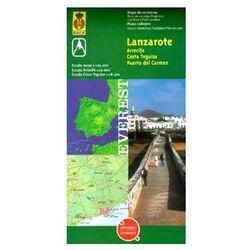 Road Map Lanzarote