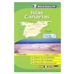 Road Map Canary Islands. Michelin.