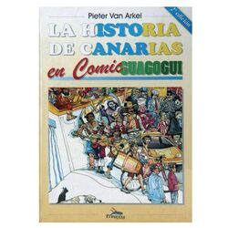 The history of Canary Islands in Comic