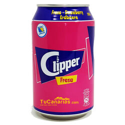 Refresco Clipper de Fresa 33 cl