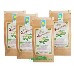 100g Canary Islands Soursop Leaves 100% Organic 4x3 (5,2€ Unit)