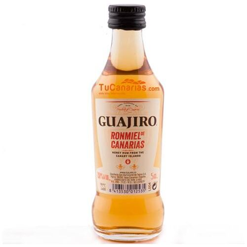 Miniature Honey Rum Guajiro 20% - Free Customized