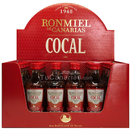 Honey Rum Cocal Miniature - Free Customized