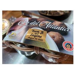 Pack Tres Mojos Oro Atlantico 180 ml - Personalización Gratis