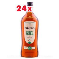 24 botellas Ron Miel Guajiro 30% 1 Litro