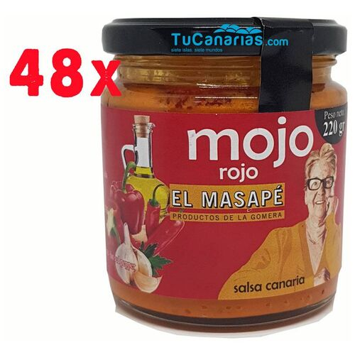 48 Mojos Rojos Masape 220g Venta al mayor
