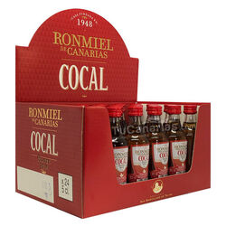 24 mini bottles Honey Rum Cocal - Free Customized