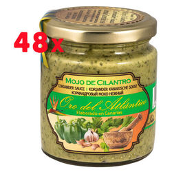 48 units Mojo Coriander Sauce Oro Atlantico 250 ml