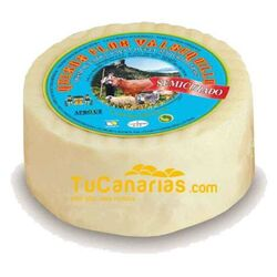 Valsequillo Cheese Medium Cured 500 gr. Gold World 2009