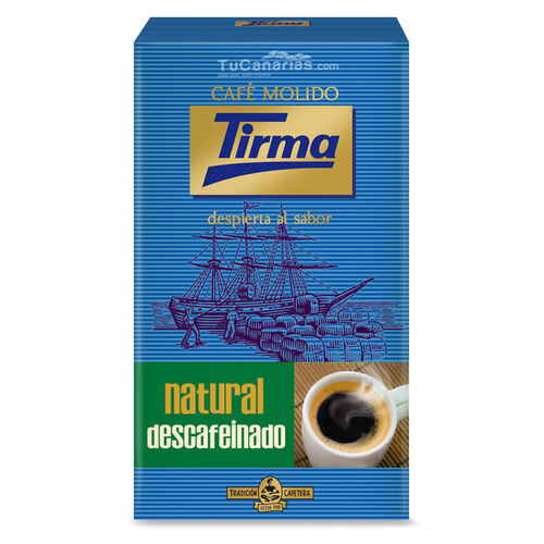 Cafe Tirma Natural Descafeinado 250g al vacío