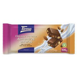 Chocolate Tirma Almendras Enteras Maxi 170g