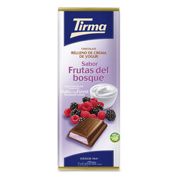 Chocolate relleno Yogur Frutos Rojos Tirma 95g