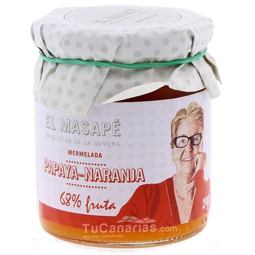 Mermelada Masape Papaya Naranja TuCanarias.com