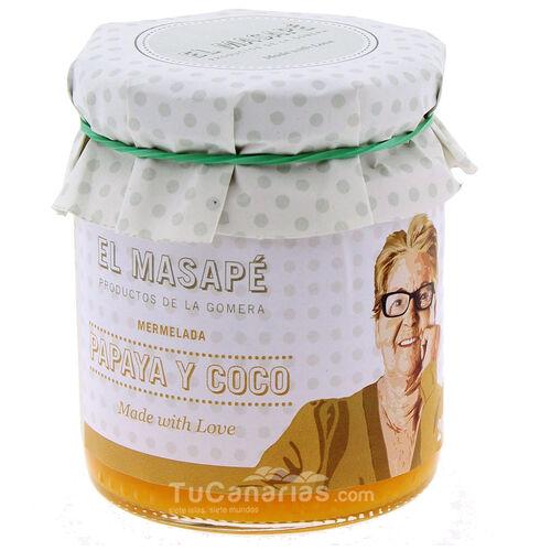 Mermelada Masape Papaya Coco TuCanarias.com