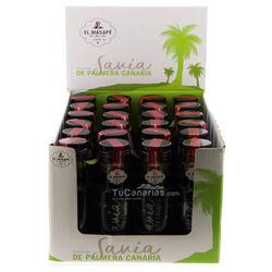 24 botellas Miel de Palma 100ml Dosificador en caja en TuCanarias.com Venta al mayor