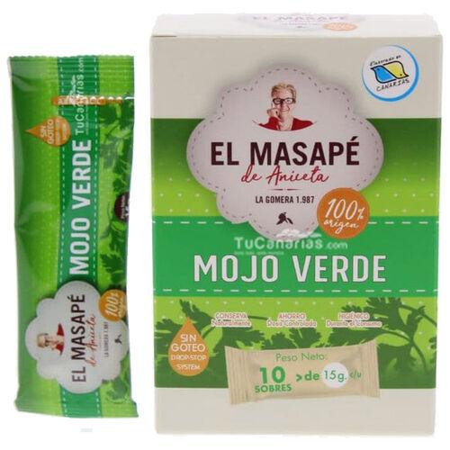 Mojo verde Monodosis Masape TuCanarias.com