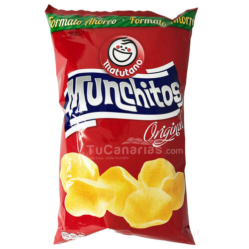 Munchitos Patatoes 160g Family Package